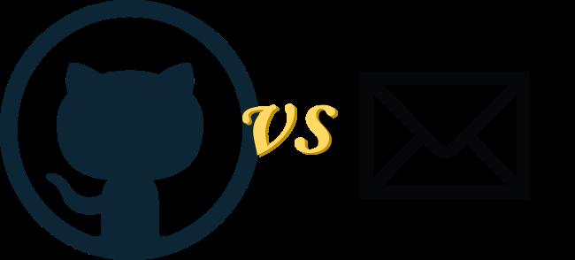 Mailing lists vs Github