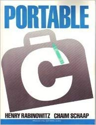 Cover of Portable C
